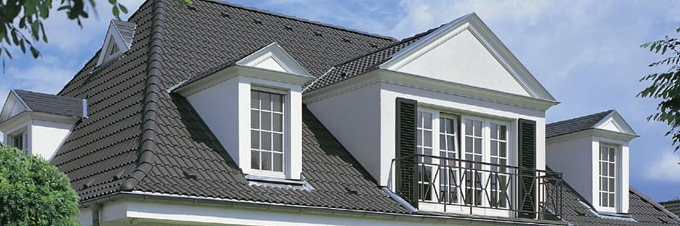 Villa eingedeckt mit TP_Granit